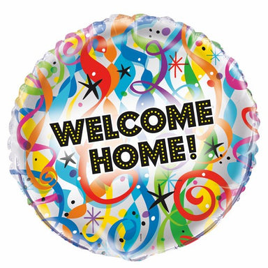 Bright Welcome Home 45cm (18) Foil Balloon Packaged