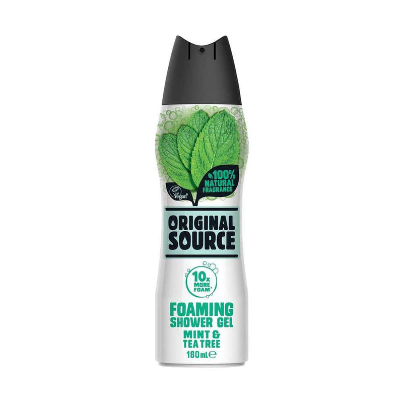 Original Souce Foaming Shower Gel Mint & Tea Tree 180ml