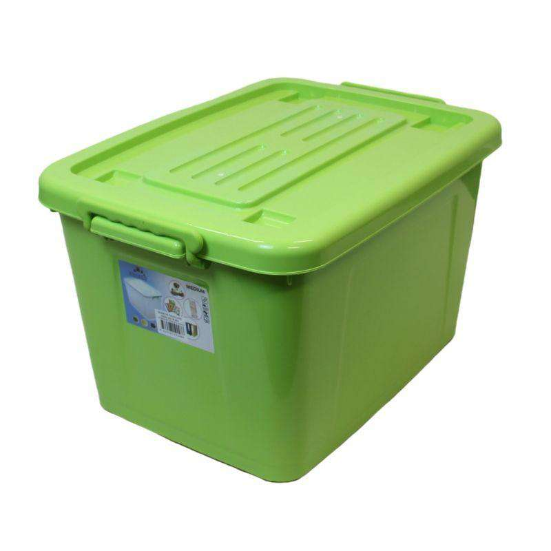 Plastic Storage Tub Coloured 43L