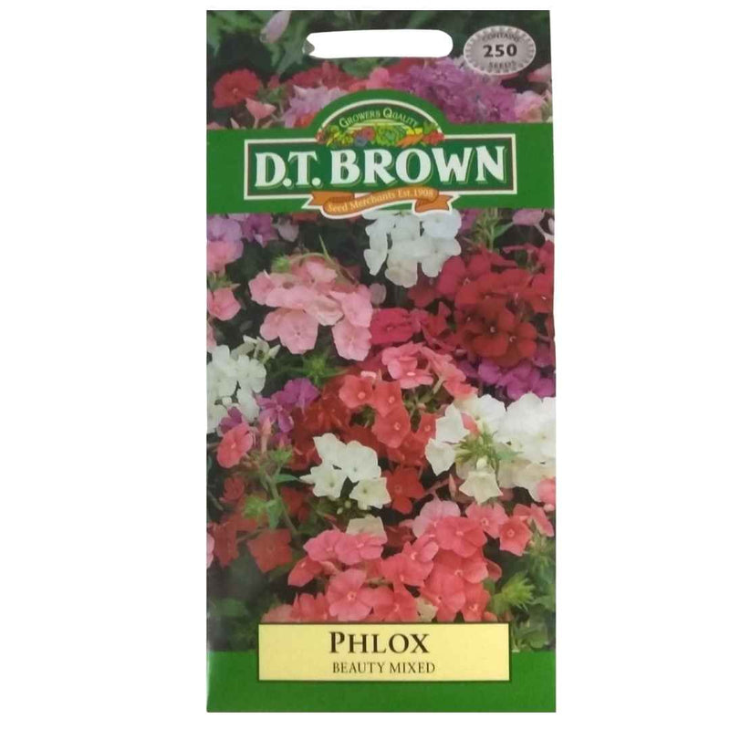 Buy DT Brown Phlox Beauty Mixed Seeds | Dollars and Sense