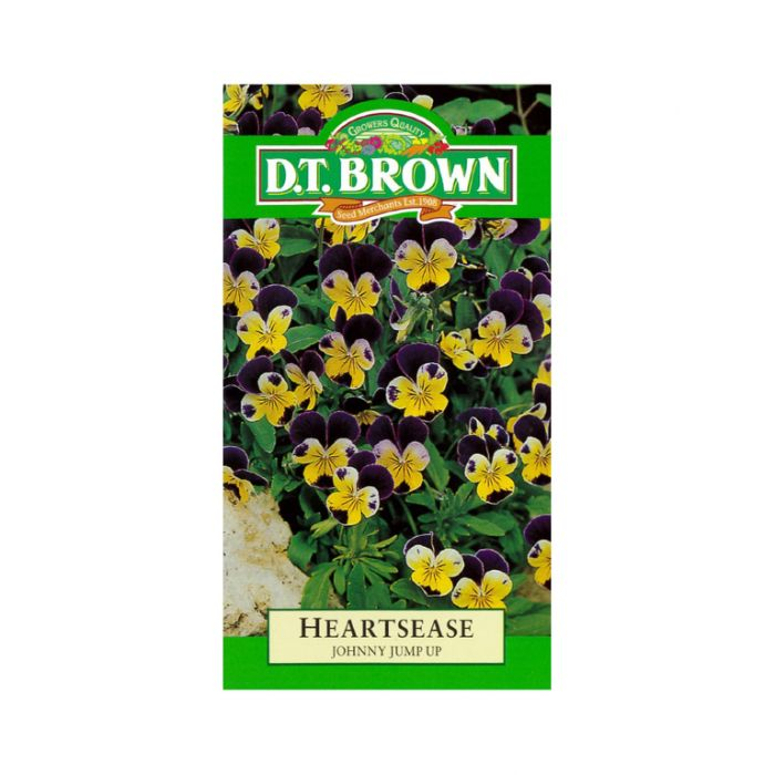 Buy DT Brown Heartsease Johnny Jump Seeds | Dollars and Sense