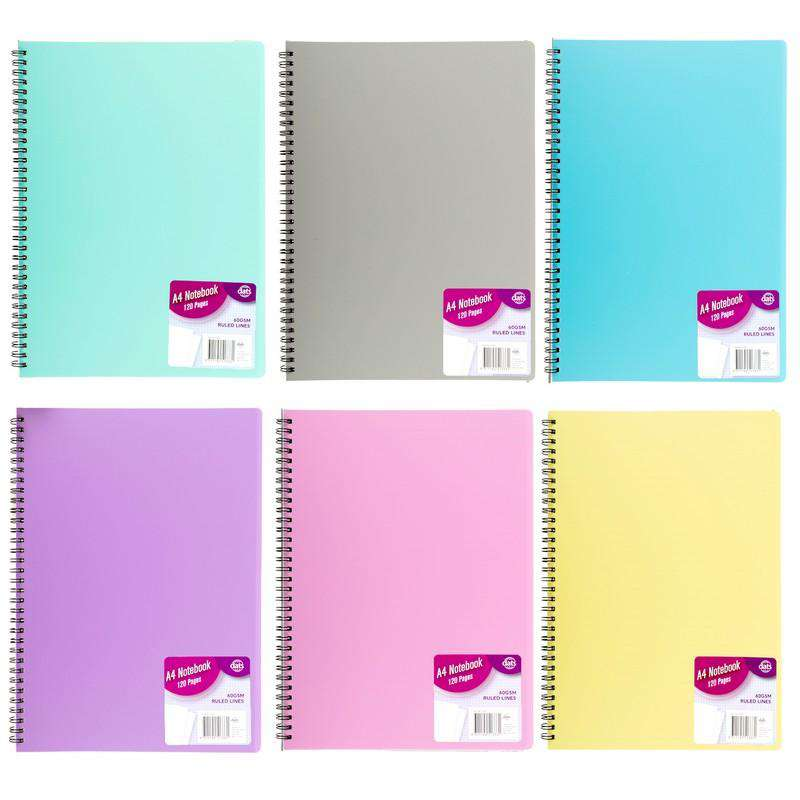 A4 Notebook - 120 Pages