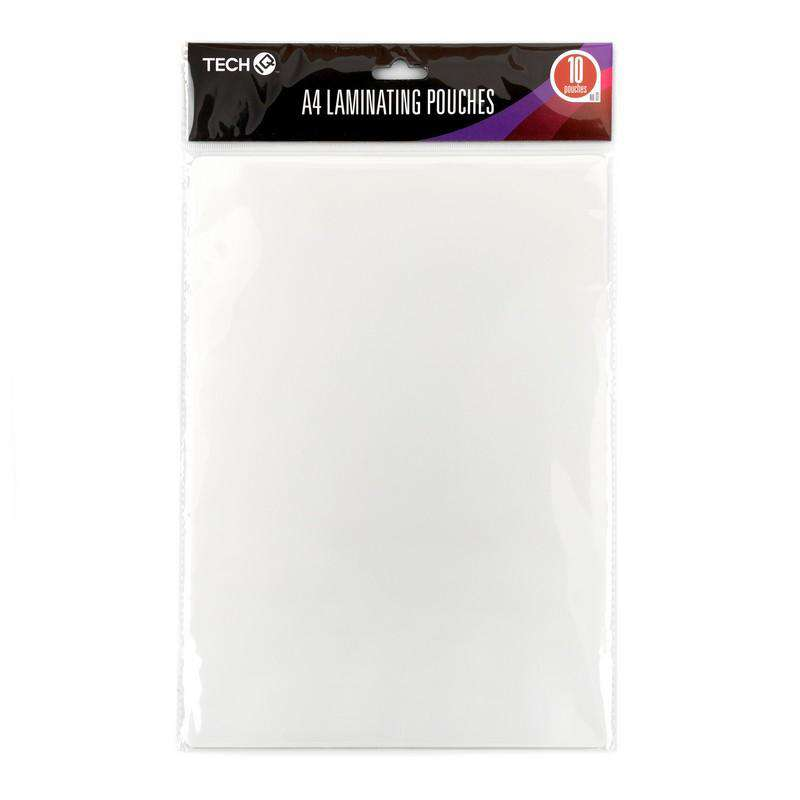 A4 Laminating Pouches - 10 Pack