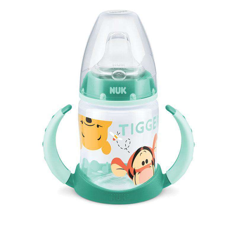 NUK Winnie PP Training Bottles Green