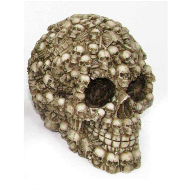 Skull Head 3 12cm - Mini Skulls