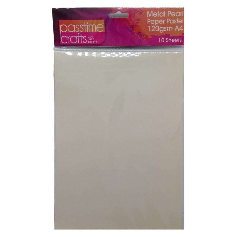 Buy Cheap art & craft online | Metal Pearl Paper Pastel 120gsm A4 Grey 10 Pieces|  Dollars and Sense cheap and low prices in australia