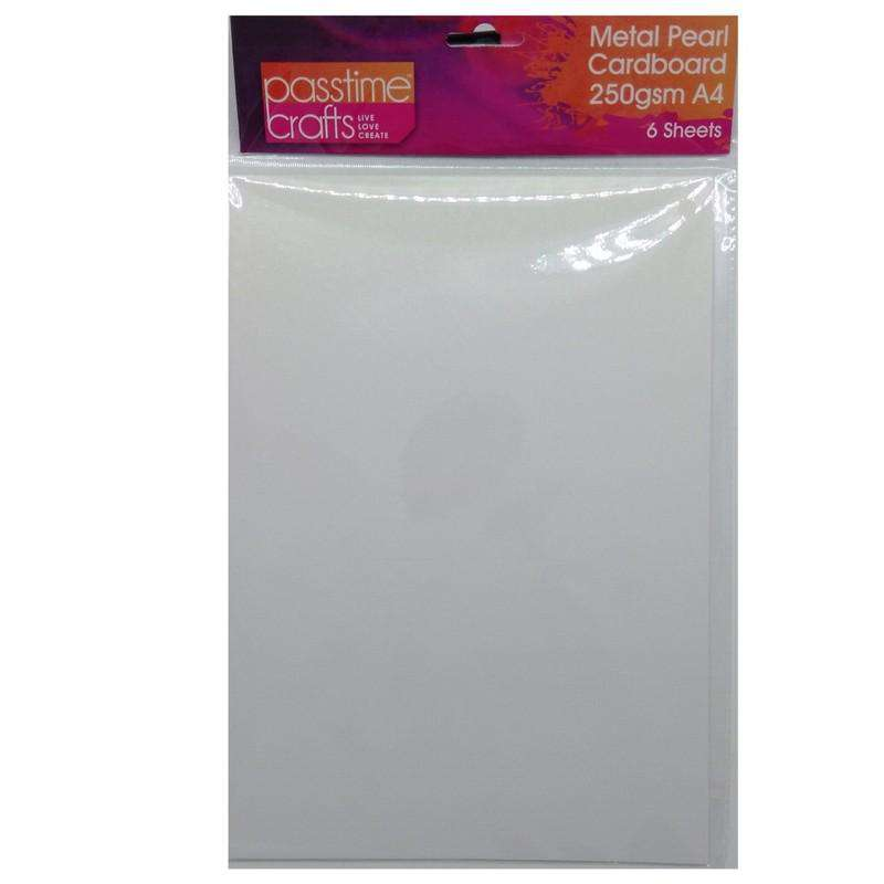 Buy Cheap art & craft online | Metal Pearl Cardboard 250gsm A4 Dusty Pink 6 Pieces|  Dollars and Sense cheap and low prices in australia