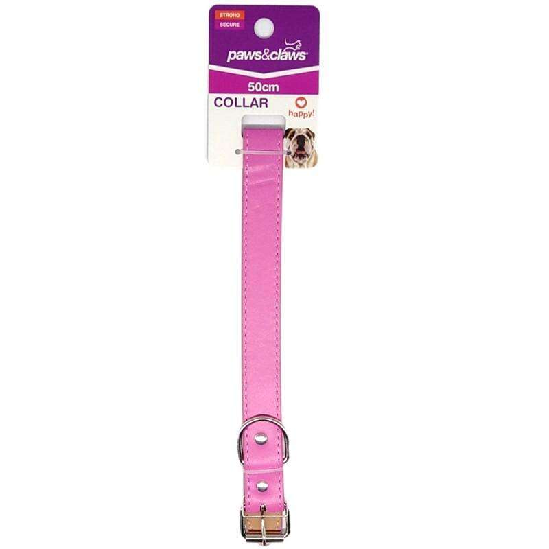 Pet Dog Collar Pink 2.5cmx50cm