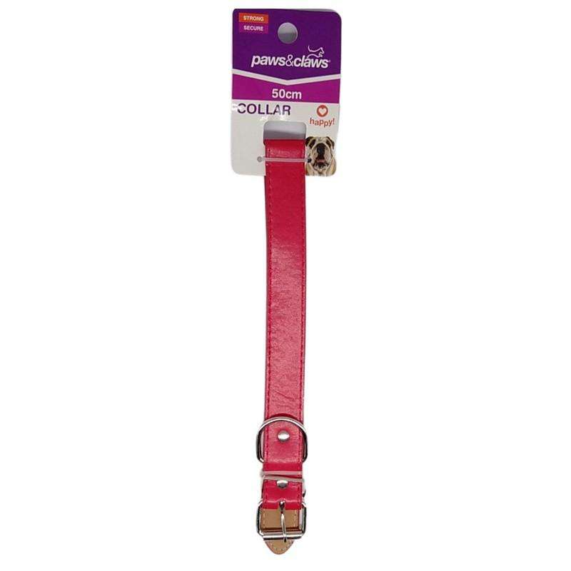Pet Dog Collar Red 2.5cmx50cm