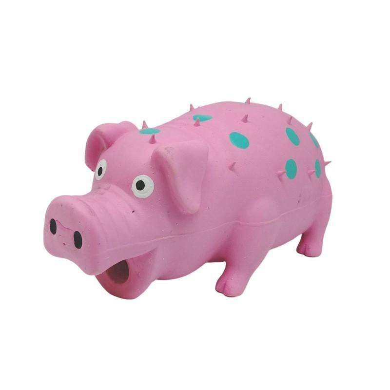 Pet Toy Latex Pig Pink