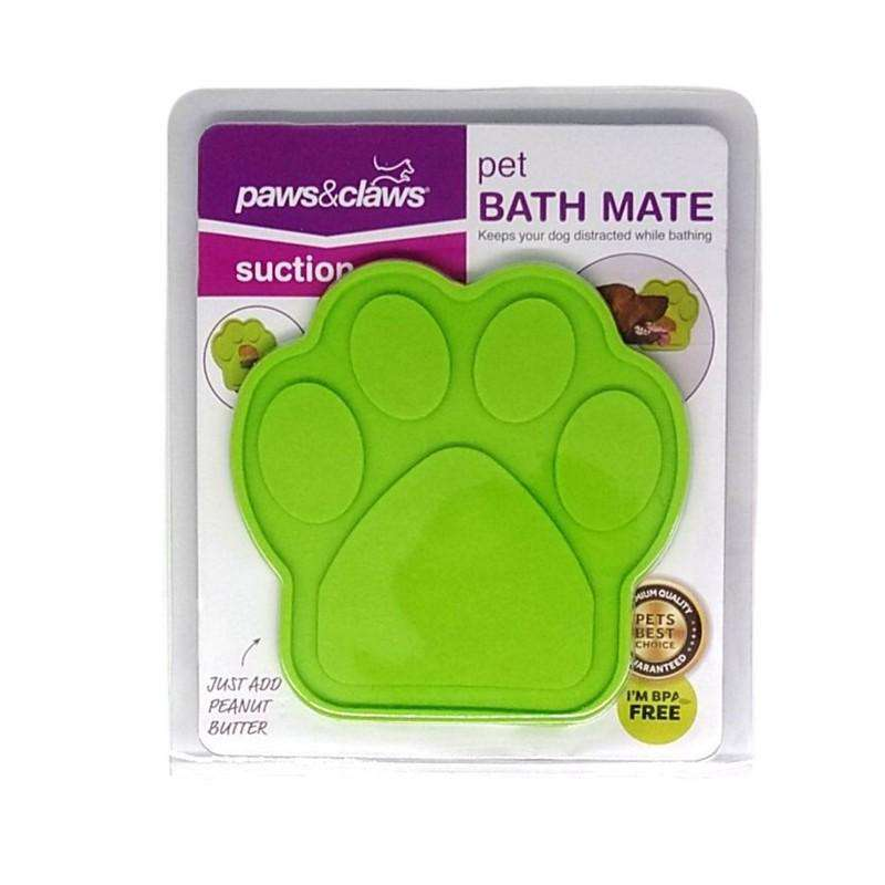Pet Grooming Stick On Bath Mate Green