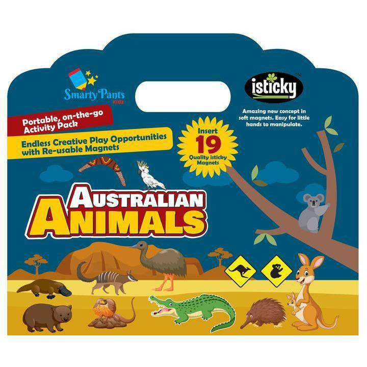 Magnetic Kids Activity Board Australian Animal