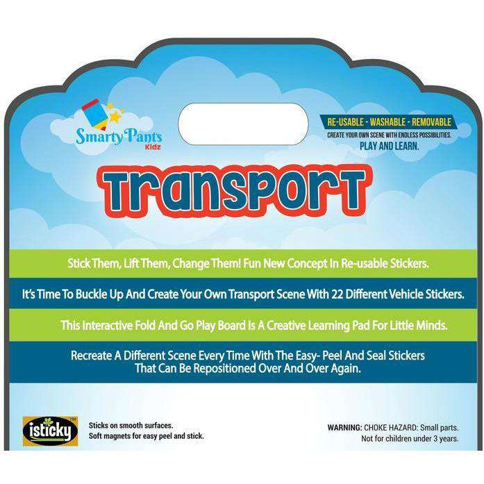 Magnetic Kids Activity Board Transport