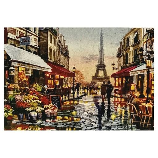 Buy Cheap art & craft online | Diamond Art Printing Eiffel Tower & Buildings 30x40cm|  Dollars and Sense cheap and low prices in australia