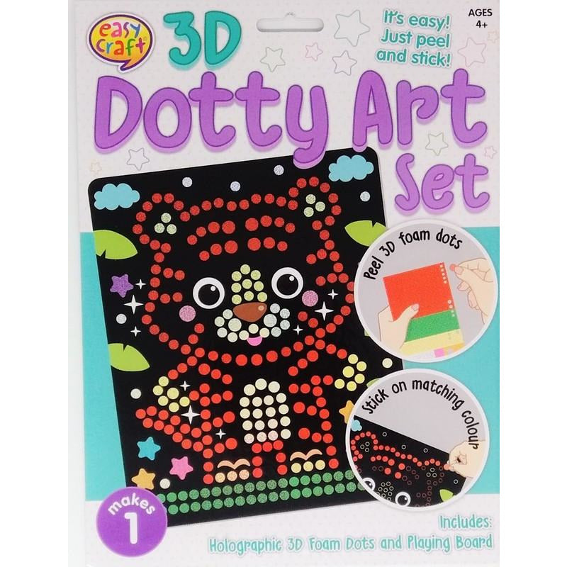 Buy Cheap art & craft online | 3D Dotty Art Set Assorted 6 Designs|  Dollars and Sense cheap and low prices in australia