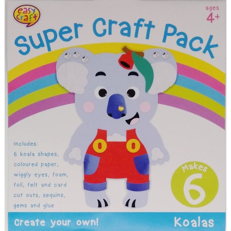 Buy Cheap art & craft online | Super Craft Kit 6Pk 4 Assorted Designs|  Dollars and Sense cheap and low prices in australia