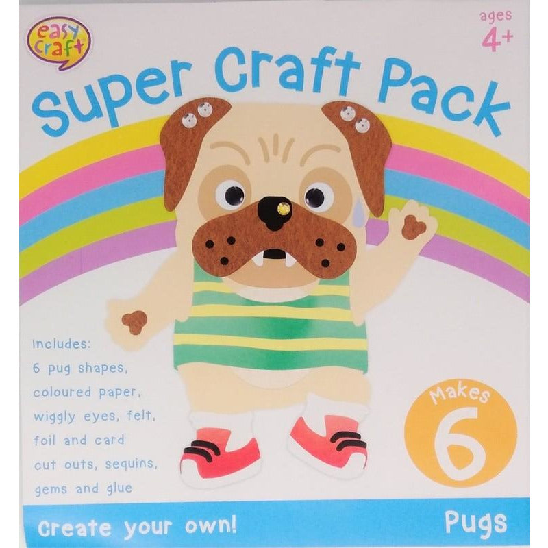 Super Craft Kit 6Pk 4 Assorted Designs