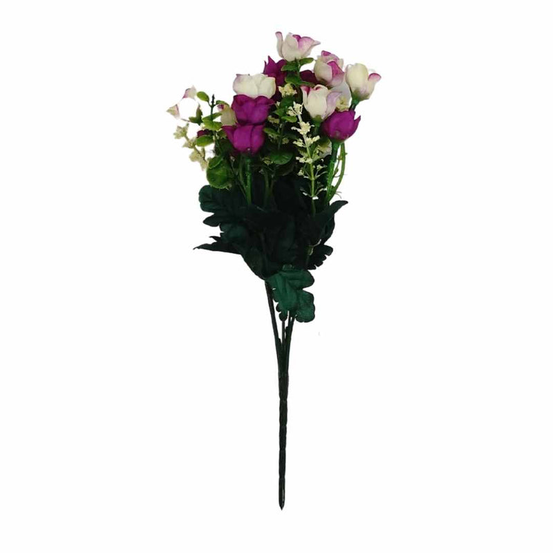 Small Rose Artificial Flower Bunch