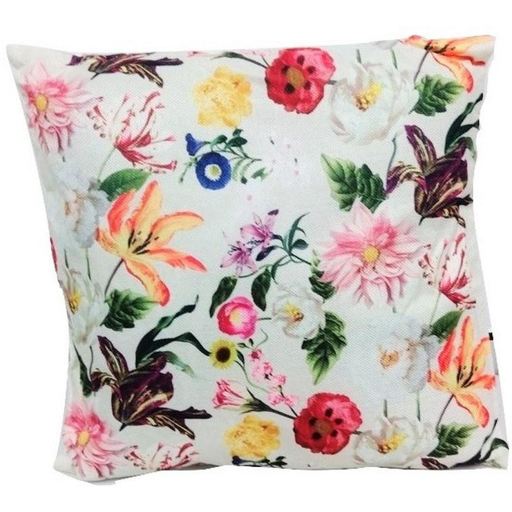Decorative Zen Cushion Spring Flower 42x42cm