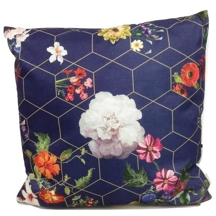 Decorative Zen Cushion Floral 42x42cm
