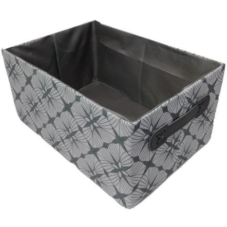 Fabric Storage Basket Lge 35x25x18cm