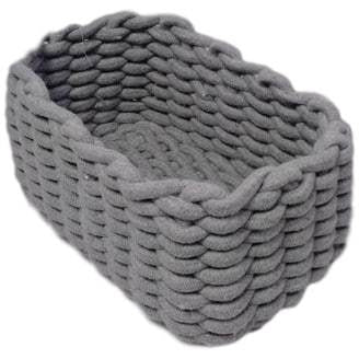 Cotton Rope Storage Basket 23x15x13cm