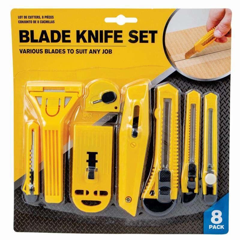Blade Knife 8pcs Set