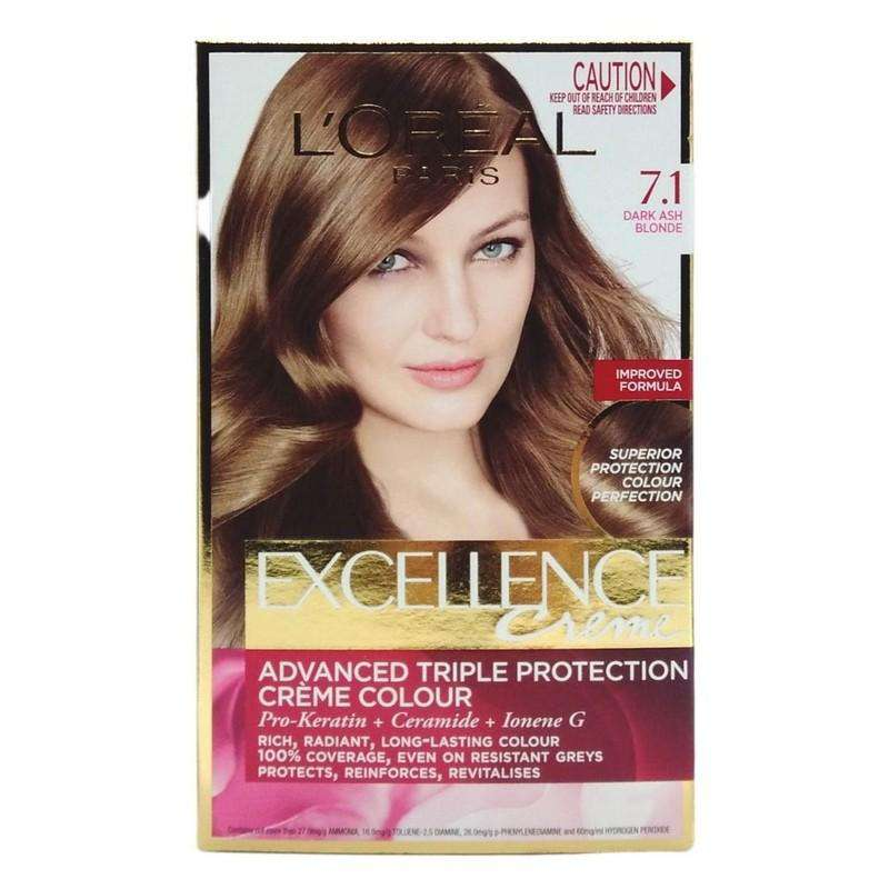 Loreal Creme Hair Colour Dark Ash Blonde