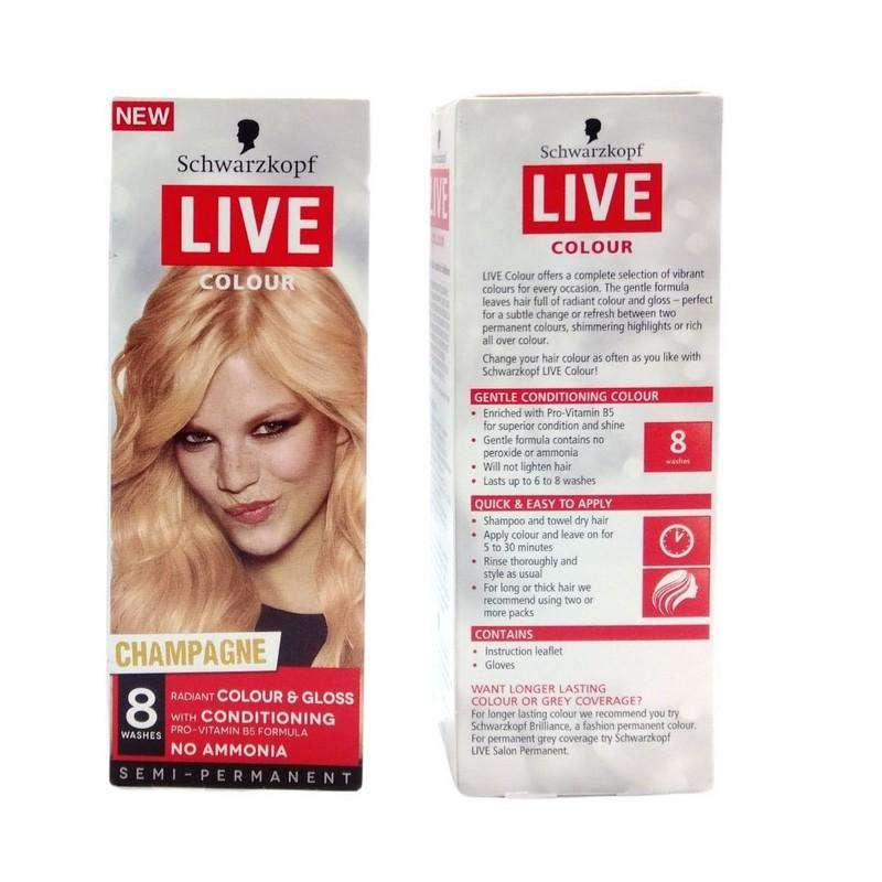 Schwarzkopf 8 Washes Hair Colour