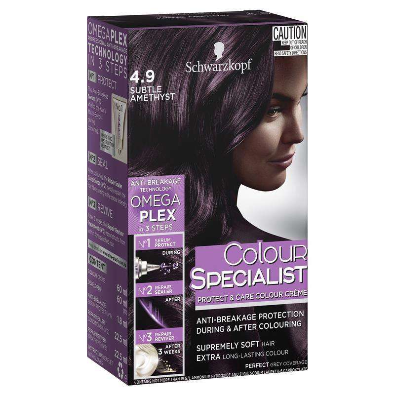 Schwarzkopf Protect & Care Colour Crème Subtle Amethyst