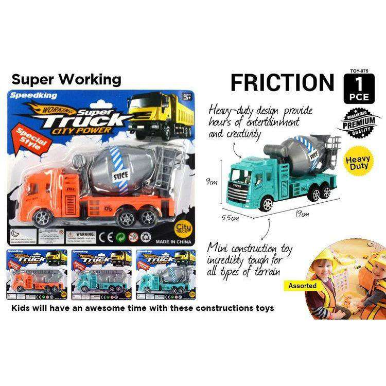 Construction Truck Toy 17cm