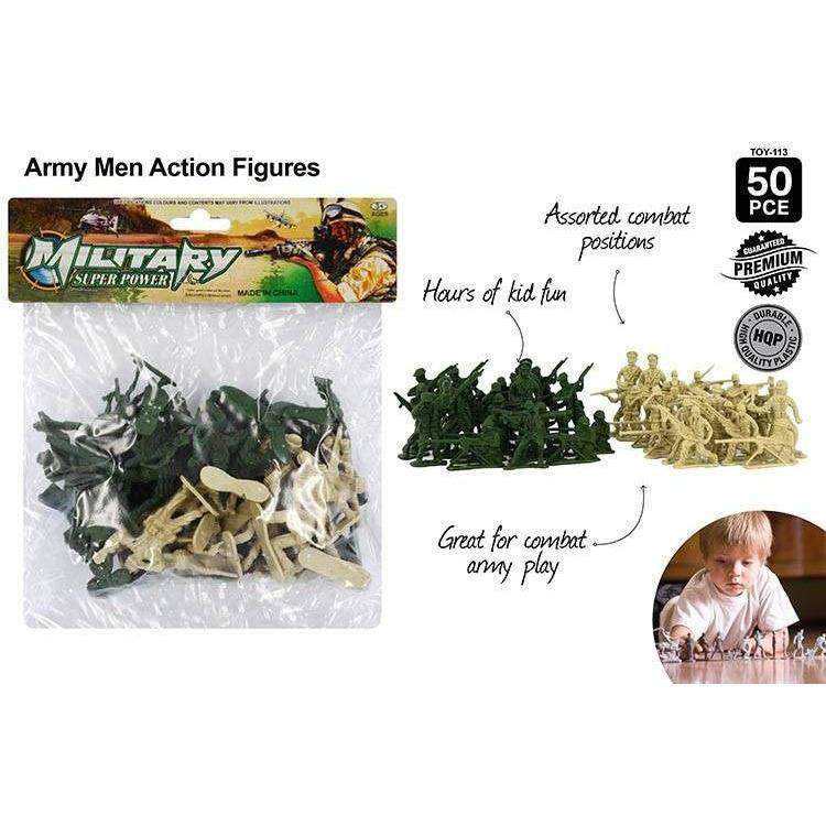 Army Men 50 pcs