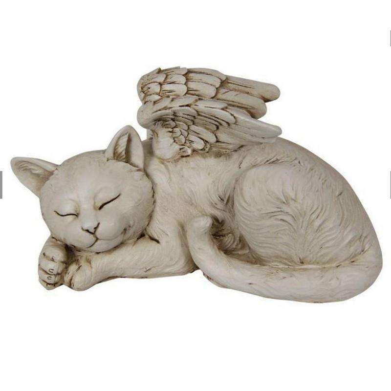 Cat Memorial Angel 26cm