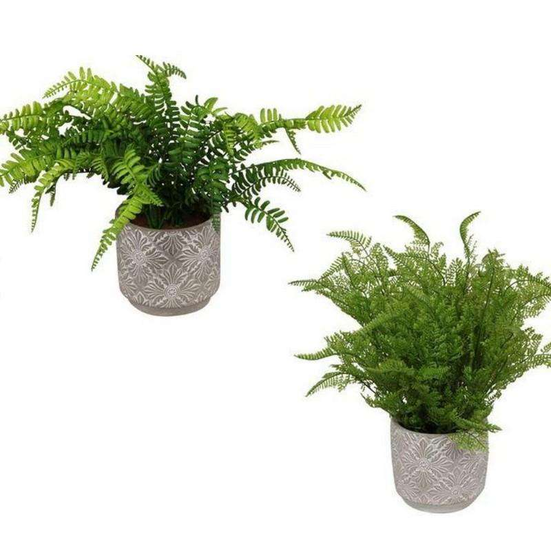 Fern Plant in Mandala Pot 45cm