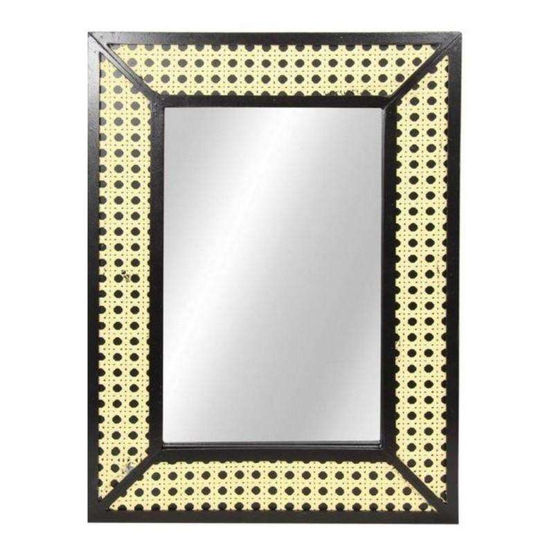 MDF Mirror with Bamboo Pattern 40x30cm