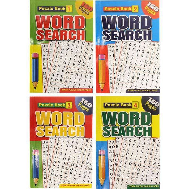 Word Search Book A5 208pg