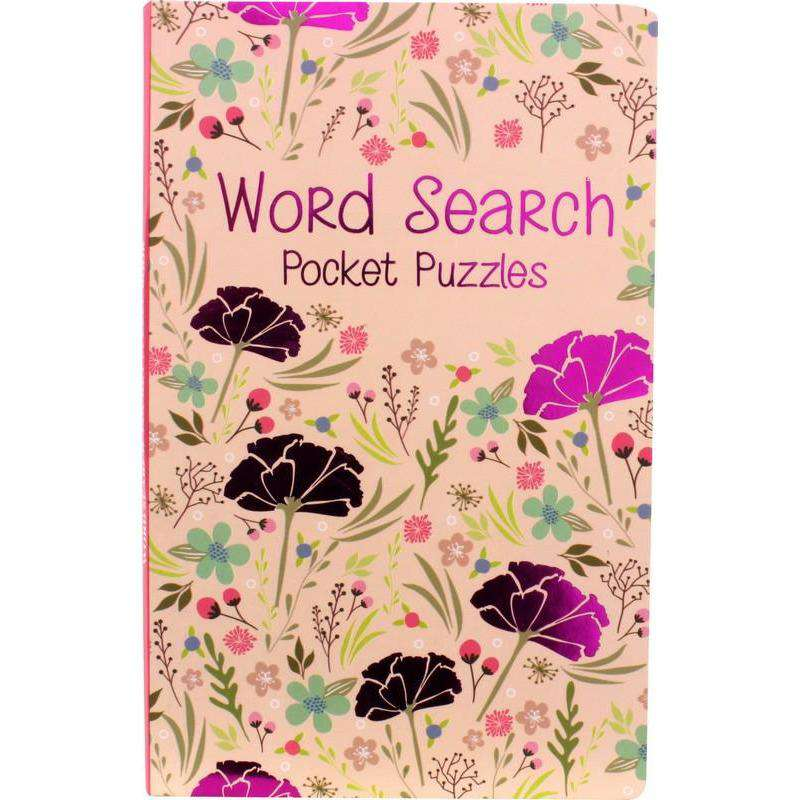 Word Search Pocket Puzzles Book