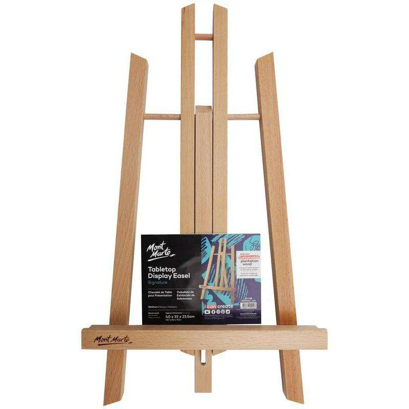 Buy onilne Mont Marte Signature Tabletop Display Easel - Medium | Dollars and Sense cheap and low prices in australia