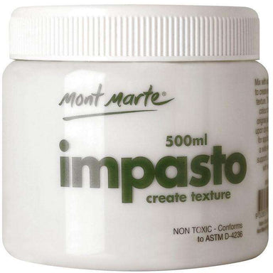 Buy onilne Mont Marte Impasto 500ml | Dollars and Sense cheap and low prices in australia