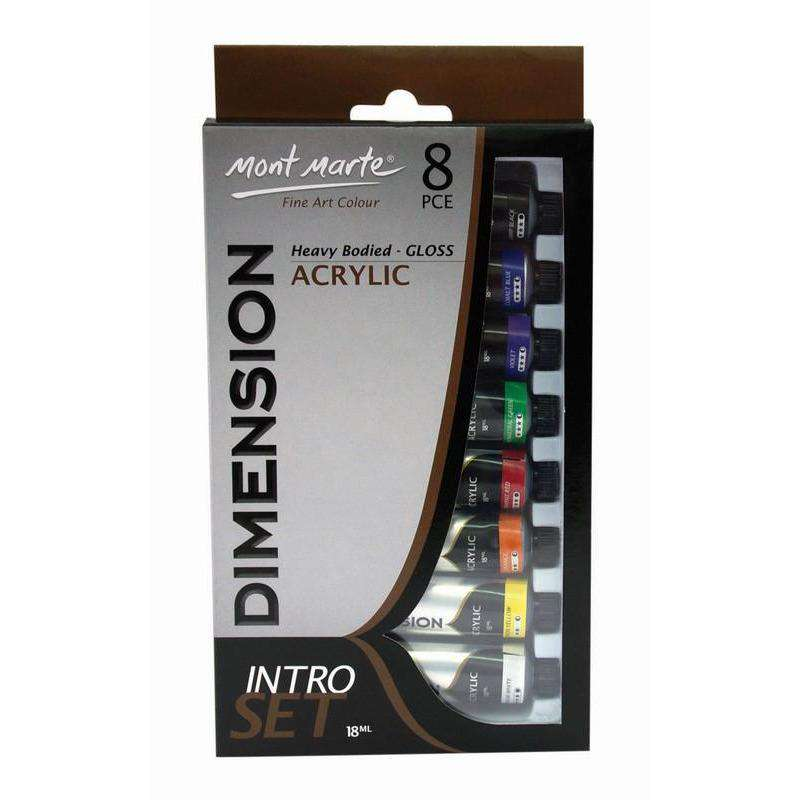 Dimension Acrylic Intro Set 8pce x 18ml