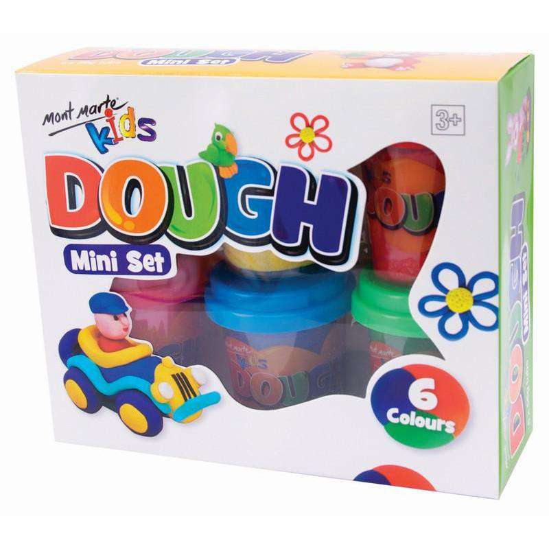 Mont Marte Dough Mini Set 6pcs