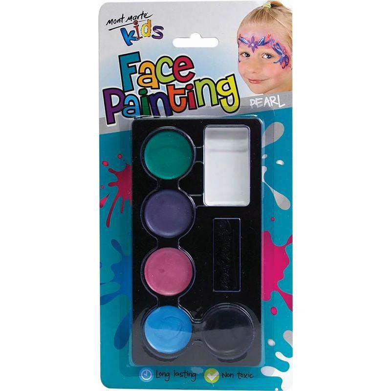 Kids Face Painting Set - Pearl