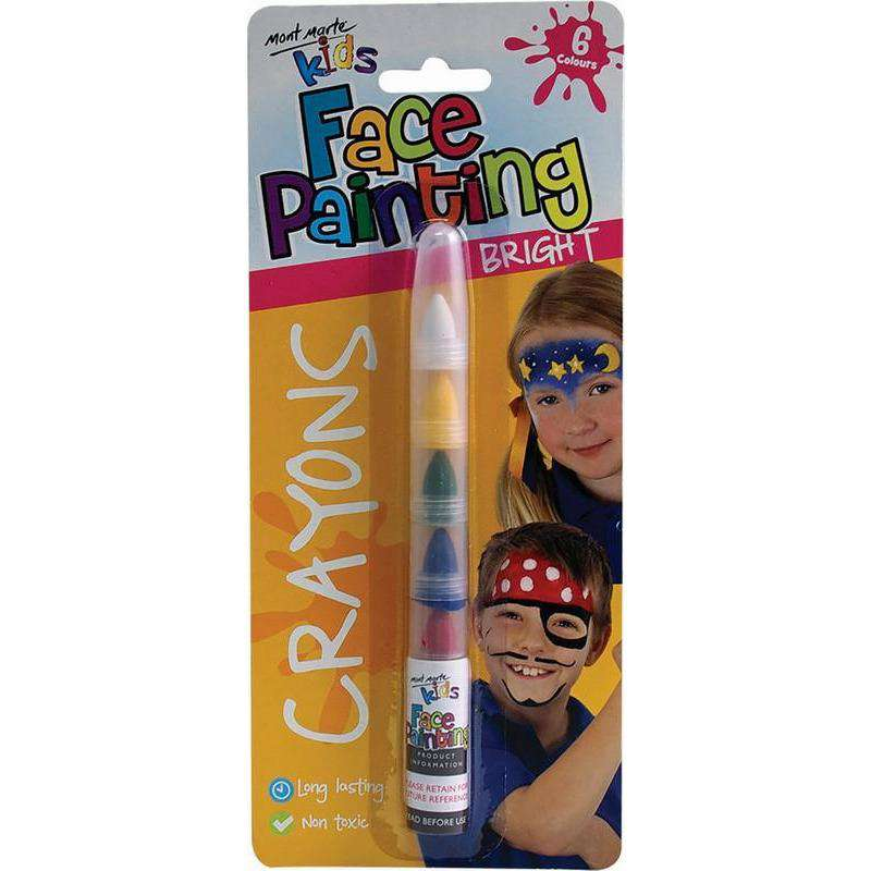 Buy Cheap art & craft online | Kids Face Painting Crayons - Bright|  Dollars and Sense cheap and low prices in australia