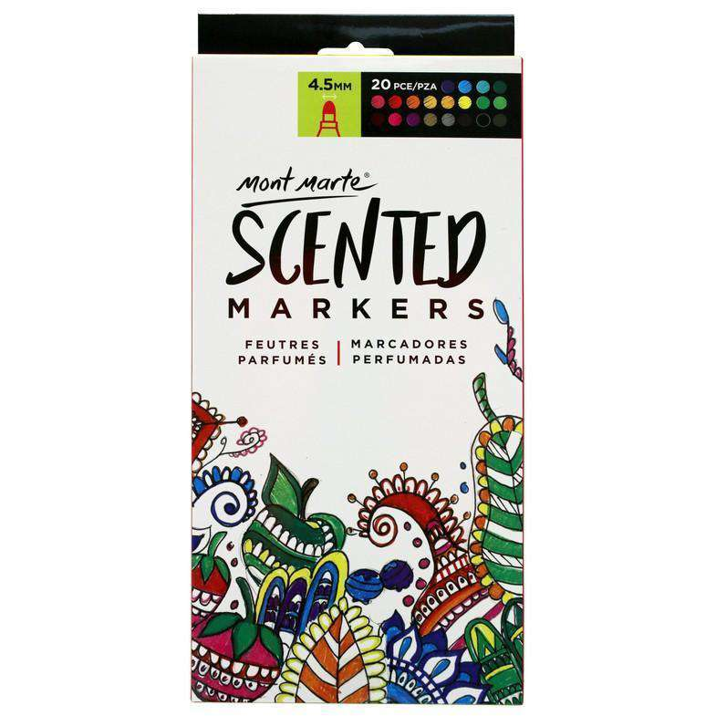 Scented Markers and Pencils 20pce