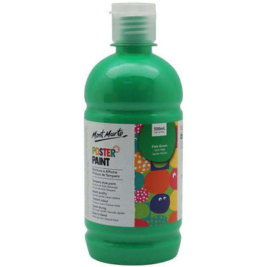 Buy onilne Mont Marte Poster Paint 500ml (16.91oz) - Pale Green | Dollars and Sense cheap and low prices in australia