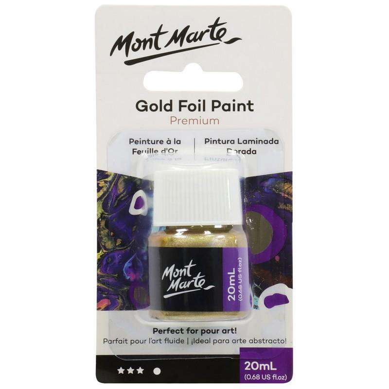 Buy Cheap art & craft online | Premium Gold Foil Paint 20ml|  Dollars and Sense cheap and low prices in australia