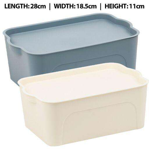 Solid Stacker Container with Lid 4.5L