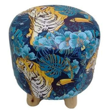 Cushion Stool Zen Tiger