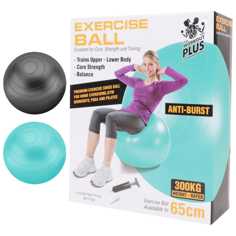 Fit Exercise Ball Anti Burst 65cm