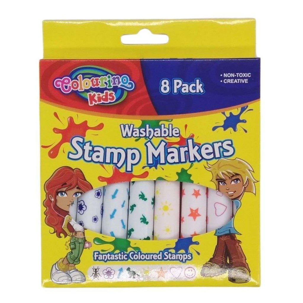 Buy Cheap art & craft online | Stamp Markers 8PK|  Dollars and Sense cheap and low prices in australia